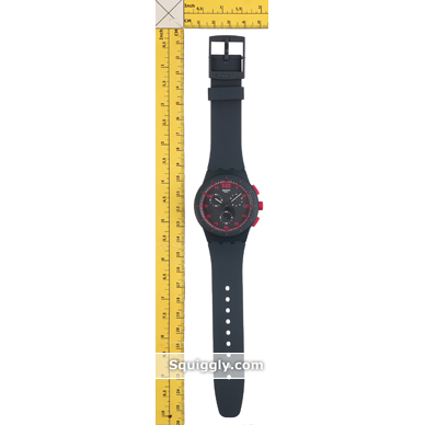 Swatch watch grey