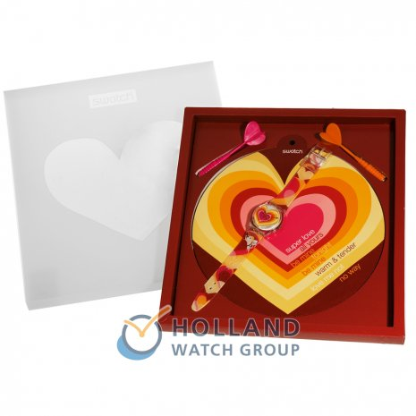 Swatch Aiming For Your Heart watch