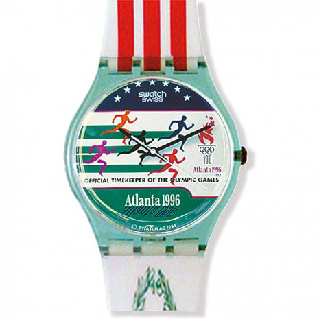 Swatch Atlanta Laurels watch