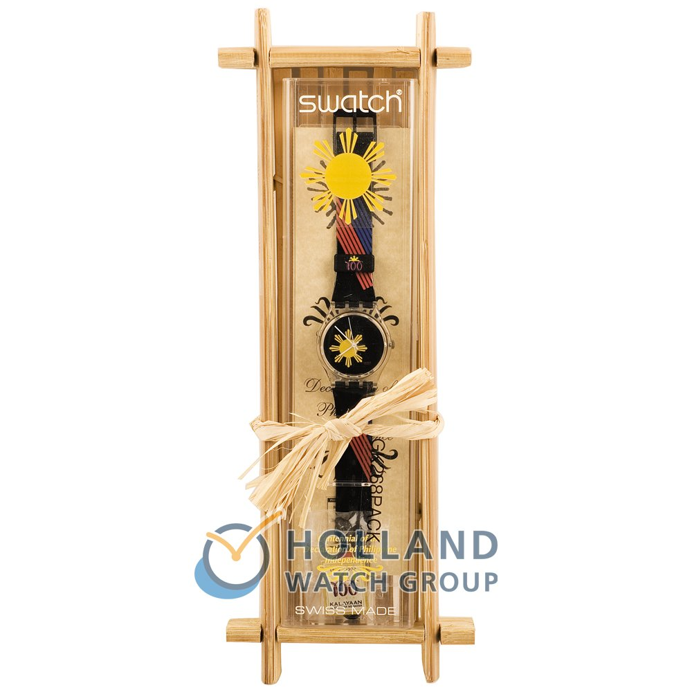 Swatch GK268PACK watch - Bamboo Package