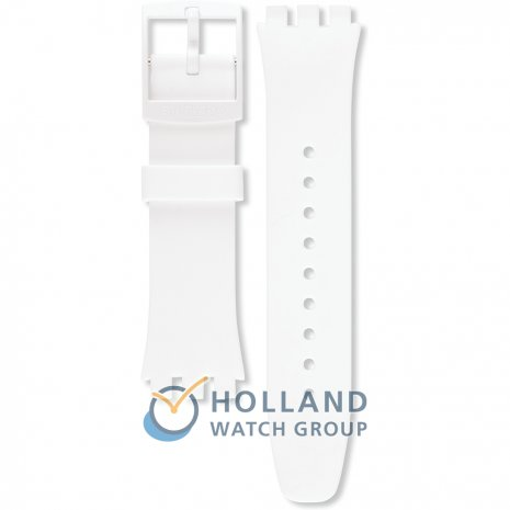 Swatch SUSW400 Basic White Strap