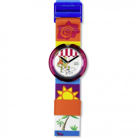 Swatch Beach Cafe watch