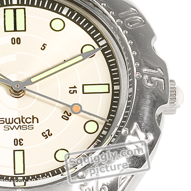 Swiss Made Steel Watch with Diver Look Fall Winter Collection Swatch