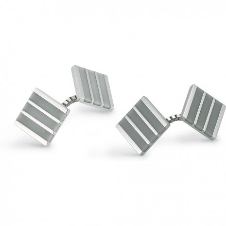 Swatch Bijoux Shake Up Grey Cufflinks