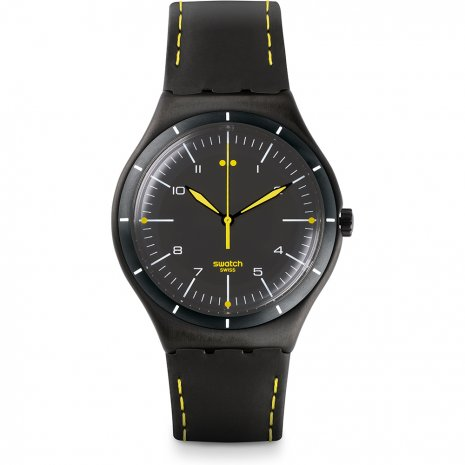 Swatch Black Bliss watch