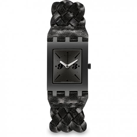 Swatch Black Braid watch