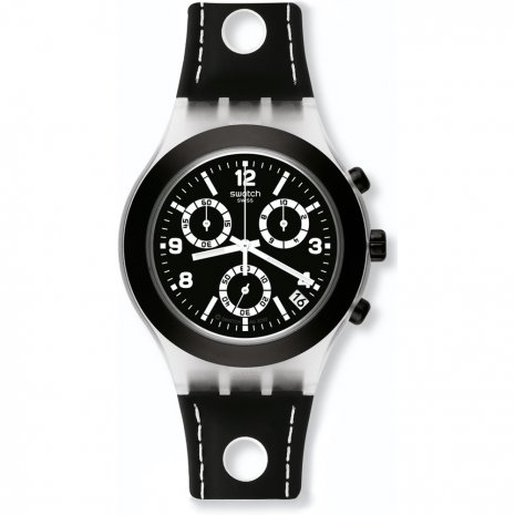 Swatch Black Cup watch