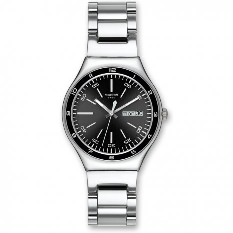 Swatch Black Decency watch