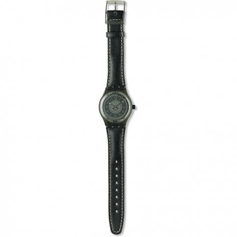 Swatch Black Deco watch