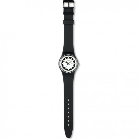 Swatch Black Divers watch