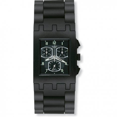 Swatch Black Equivoque watch
