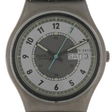 Swatch Black Hawk watch