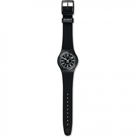Swatch Black Injection watch