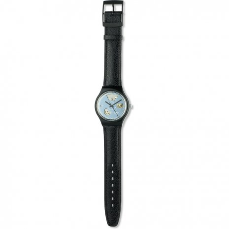 Swatch Black Motion watch