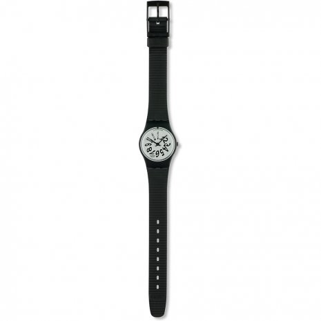 Swatch Black Night watch