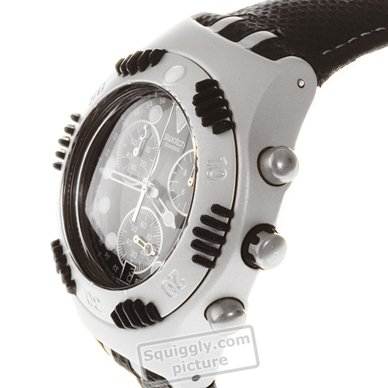 Aluminum Irony Chronograph Diver Spring Summer Collection Swatch