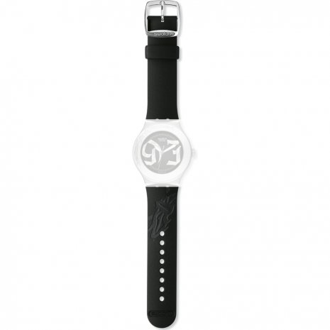Swatch YNS105 Black Steps Strap