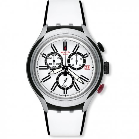 Swatch Black Wheel watch