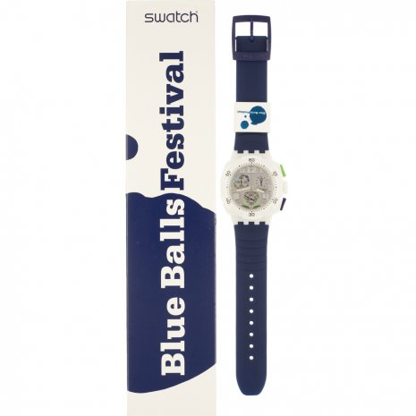 Swatch Blue Ball Festival (Flying Provocacy) watch