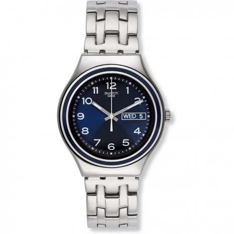 swatch blue influence watch