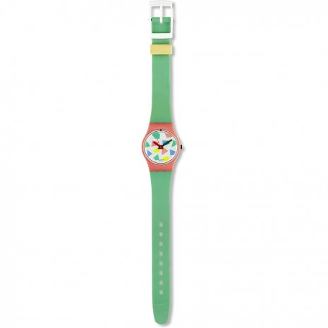 Swatch Blue Lolly watch