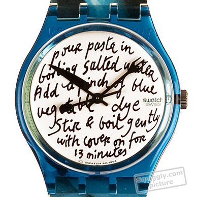 Swatch watch Turquoise