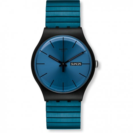 Swatch Blue Resolution Small watch