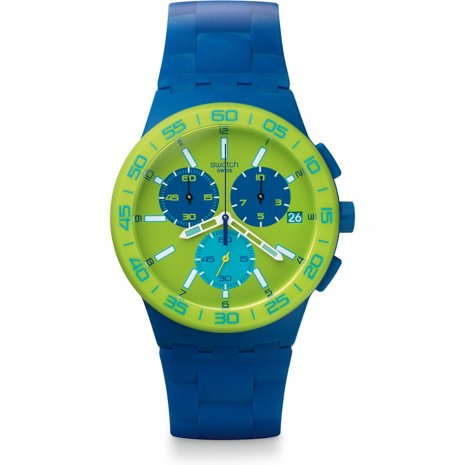 Swatch Blue Rug watch