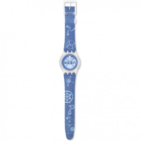 Swatch Blue Satelite watch