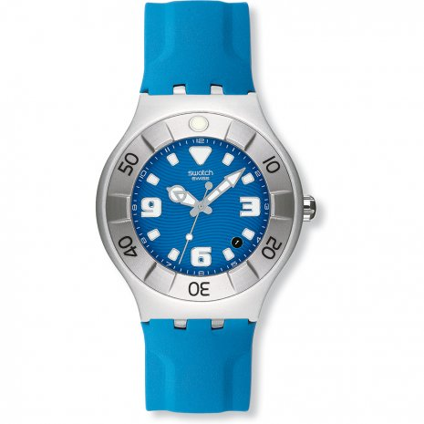 Swatch Blue Squid watch