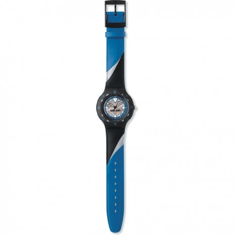 Swatch Blue Squiggle watch