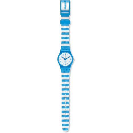 Swatch Blue Tracks watch