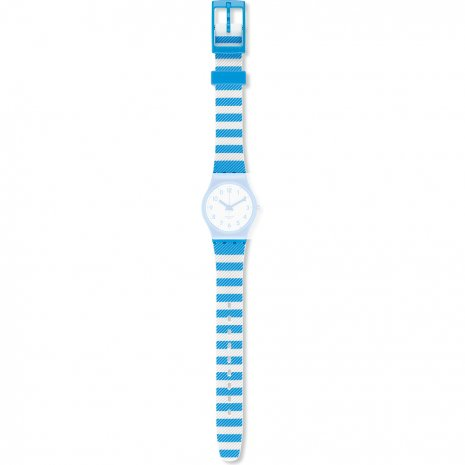 Swatch LS113 Blue Tracks Strap