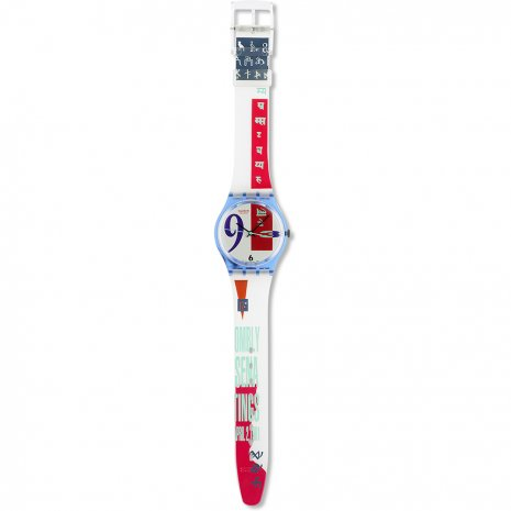 Swatch Bold Face watch