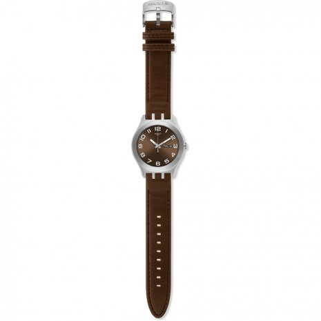 Swatch Brown Classic watch