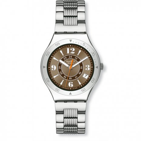 Swatch Brown Step watch
