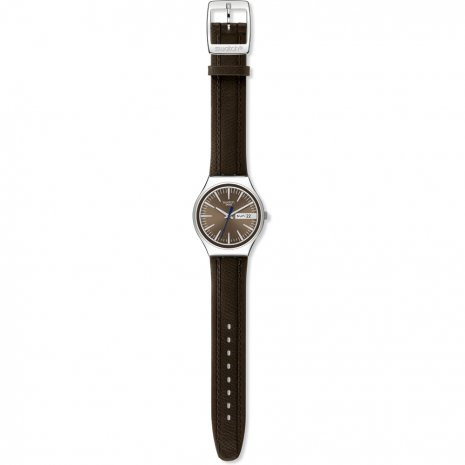 Swatch Brown Suit watch
