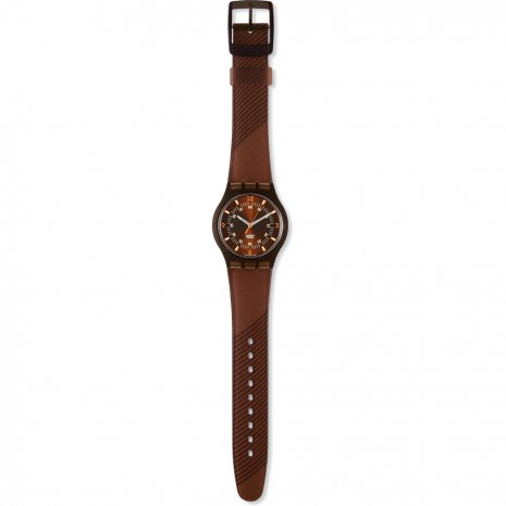 Swatch Brownblacky watch