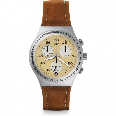 Swatch Brushed Earth watch