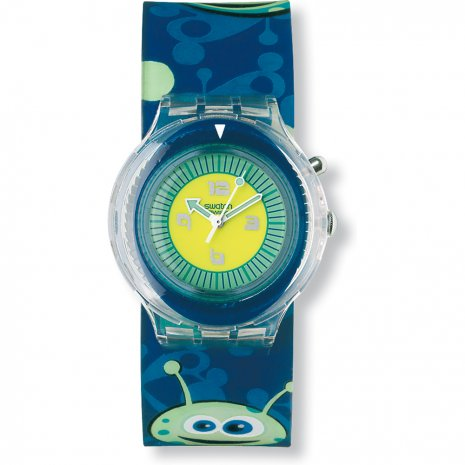 Swatch Bubble Blup watch