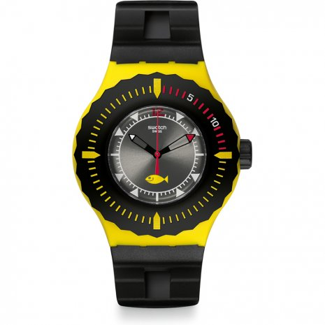 Swatch Bumble Dive watch