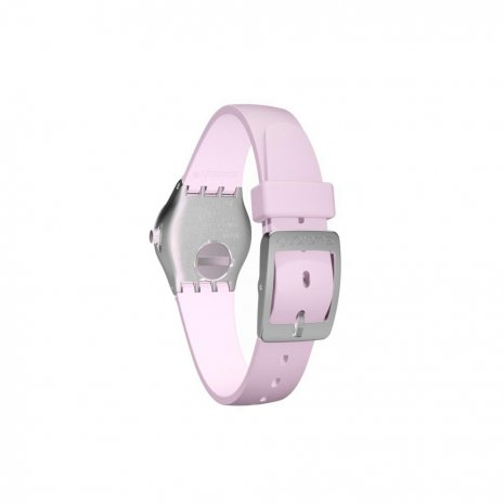 Pink Y Silver Irony Ladies Watch Fall Winter Collection Swatch