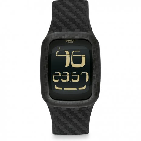Swatch Carbon Fever watch