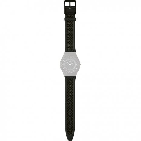 Swatch SFB105 Carbonite Strap