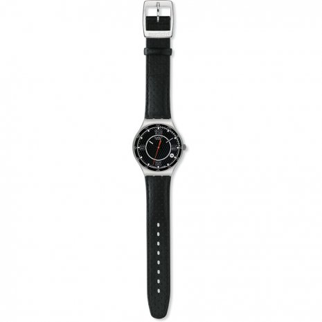 Swatch Carbonoir watch