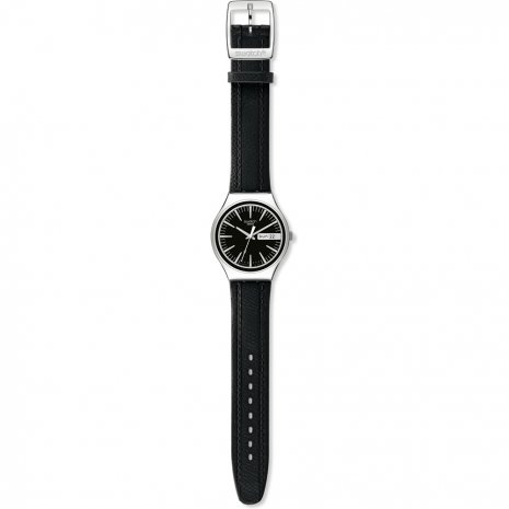 Swatch Charcoal Suit watch