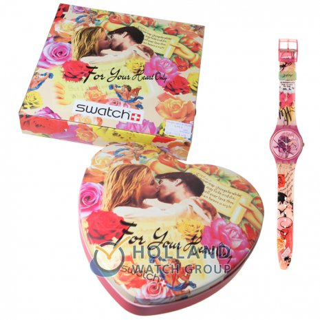 Swatch Chocolat Box (For Your Heart Only) watch