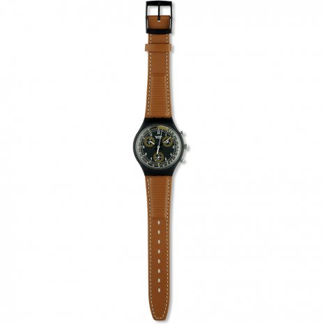 Swatch Classic Brown watch