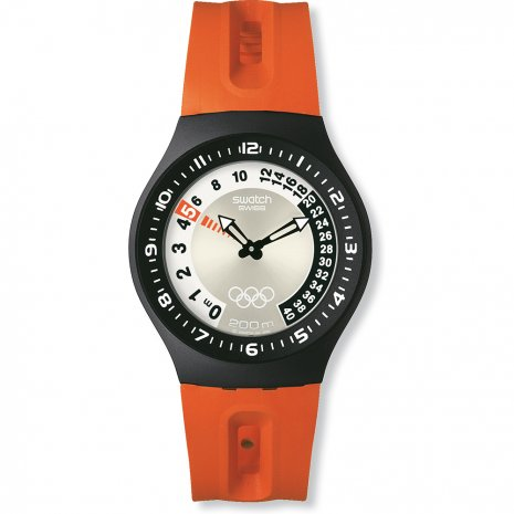 Swatch Climbing Lobster watch