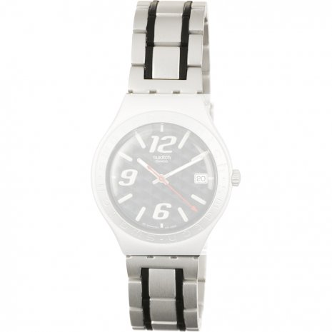 Swatch YGS4019AG Coal-Black Strap